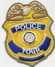 Girl Boy Cub POLICE TOUR BADGE Fun Patches Crest Badges SCOUT GUIDE visit patrol