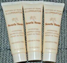 3X South Seas Mother Of Pearl Illuminator Hydrating Shimmer Lotion 1 fl oz each