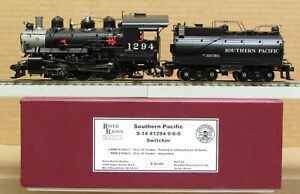 River Raisin Models SP/Southern Pacific S-14 0-6-0 Steam Engine *BRASS* S-Scale