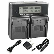 VW-VBN260 Dual Charger for Panasonic HDC-TM900K TM900P TM900PC TM900 TM900GK