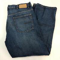 Calvin Klein Straight Jeans Men's Size 40 Dark Wash Denim Mid Rise 100% Cotton