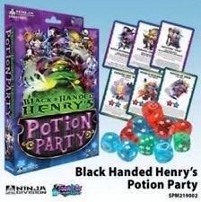 Juegos de cartas de color principal negro