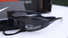 Nike Men's Sport Sunglasses EVO178 Tarj Round Black Maxoptics New Tag Retail $80