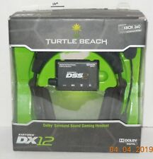 Turtle Beach Ear Force DX12 Dolby Surround Sound Xbox 360 Gaming Headset