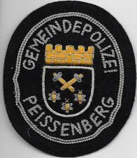 Polizei BAYERN Stadtpolizei  PEISSENBERG  Abzeichen handgest. Patch StaPo 60er