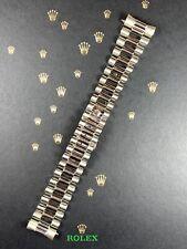 Rolex Men's Day-Date 36 18k White Gold President Bracelet 20mm Band 53 Ends