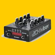ibiza MIX500BT # 2-KANAL AUDIO MISCHPULT m. USB # BLUETOOTH