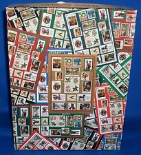 Jigsaw Puzzle Holiday Traditions Christmas Stamps 500 pc by Ensemble/Hallmark