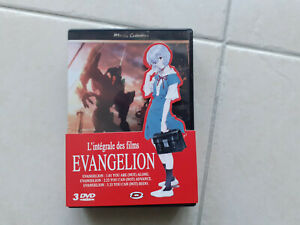 Evangelion pack 3 films DVD Dybex Edition Gold (1.01 - 2.22 - 3.33)
