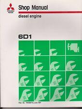 Fuso 6D1 Diesel Engine Workshop Manual, TWGE9719