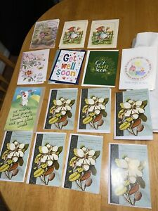 15 Greeting Get Well Thinking of You Brighten Up Day Cards & Envelopes