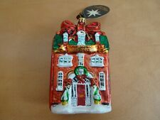 "Christopher Radko ""2008 Our House to Yours"" House Christmas Ornament - 5.5""H"