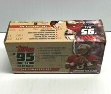 1995 Topps Football Factory Sealed 468 Card Complete Set