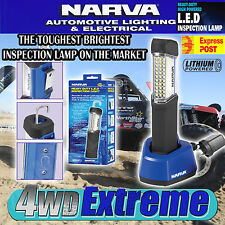 NARVA 71330 HANDHELD RECHARGEABLE LED WORK INSPECTION LIGHT LION BATTERY CHARGER