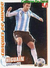 350 HIGUAIN ARGENTINA CRAQUES STICKER FUTEBOL 2011 PANINI