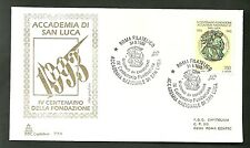 Italy Envelope CAPITOLIUM National Academy San Luca CANCELLATION Special 1993 FDC