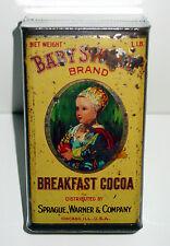 Baby Stuart Brand Breakfast Cocoa Tin - Sprague Warner & Co. - Chicago, IL