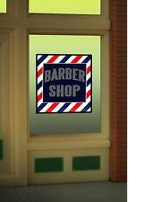 Miller Engineering    O/HO  BARBER WINDOW SIGN  MLR8930