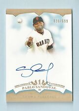 PABLO SANDOVAL 2011 TOPPS TIER ONE CROWD PLEASERS AUTOGRAPH AUTO /699