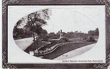 Soldiers' Memorial, Greenhead Park, HUDDERSFIELD, Yorkshire