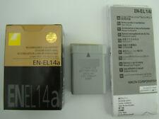 NEW BATTERY EN-EL14A FOR NIKON DF D5500 D5200 P7100 D3200 D3100 D5300 P7100 P770