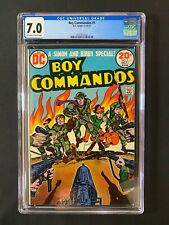 Boy Commandos #1 CGC 7.0 (1973)