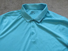 "Nike Men's Short Sleeve Golf Polo Shirt Coral Blue L 44"" chest #2"