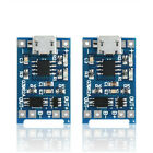 2PC 5V New Micro USB 1A 18650 Lithium Battery Charging Board Charger Module FS