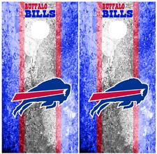 Buffalo Bills Style 03 Cornhole Board Wraps Skins Vinyl HIGH QUALITY!