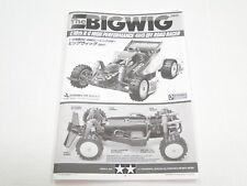 NEW TAMIYA BIGWIG 2017  Manual UD0