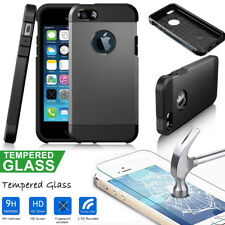 Clearance Shockproof Case For iPhone 5 5S SE& Gift 1 pack Glass Film