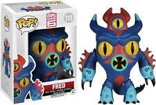 "BIG HERO 6 FRED 3.75"" VINYL FIGURE POP BOBBLE HEAD FUNKO"