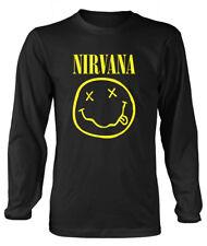  it1601647  Nirvana - Smiley Logo (maglia Manica lunga Unisex Tg. 2xl)