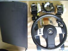 Nissan 350Z Complete AIRBAG kit , steering wheel with air bag seat belts + dash