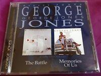 Rare 2 LPs on 1 CD : Memories of Us / The Battle ~ George Jones ~ Koch
