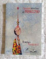 FOLDER Auguri Postali da Pinocchio - Torino Natale 2017 con 8 cartoline