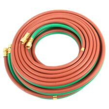 """New listing Grade T 23' X 1/4"""" All Fuel Acetylene Twin Welding Hose 23' 1/4"""" Bb Connection"""