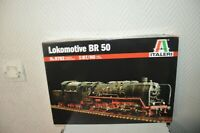 MAQUETTE LOCOMOTIVE BR 50 NEUF ITALERI 1/87  MODEL KIT LOCO/LOKOMOTIVE TRAIN HO