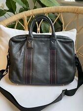 Paul Smith Briefcase Black Soft Leather