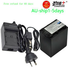 AC+1x 4.5A Battery for Sony NP-FV30 NP-FV50 NP-FV70 NP-FV100 FDR-AX100 AU-ship