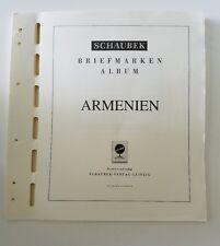 Schaubek Briefmarken Armenien 1992-1999 Stamp Album