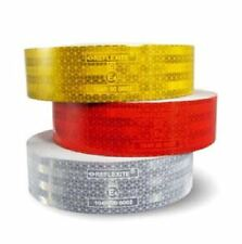1 m Reflexfolie Farbe GELB Reflektorfolie Konturmarkierung Aufkleber Neu L50050