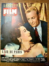 "Film Complet n° 512  ""L'air de Paris"" du  12/5/1955"