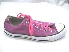 Converse All Star 8M pink purple sneakers womens ladies tennis shoes Mens 6M