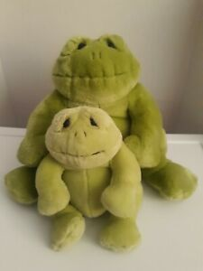 "Dakin Lou Rankin Friends Happy Herbert Frog Green Plush Stuffed Animal 12"" B6"