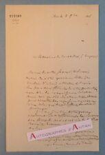 L.A.S 1858 Mgr Louis Marie EPIVENT - Evêque d'AIRE sur Adour Dax - Landes Lettre