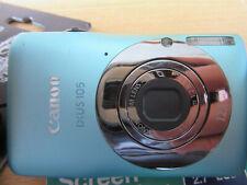 Canon IXUS 105 12.1MP Digital Camera - Aqua