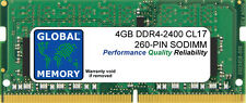 """4 GB DDR4 2400 MHz PC4-19200 260-PIN SODIMM RAM para iMac 27"""" con Retina 5K (2017)"""