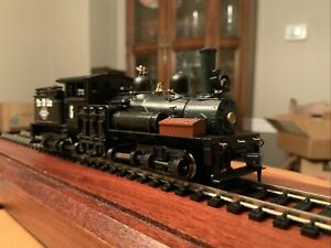 Ho Scale Roundhouse #200 Ready2Run 3 Truck Shay - never used, new gears