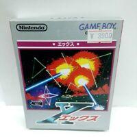 X Ekkusu Nintendo Game Boy GB Japan